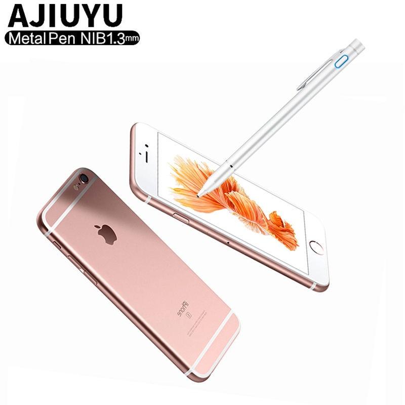 (High) 저 (° c 정밀 Active 펜 스타일러스 용량 펜 Touch Screen 대 한 Apple iPhone X XS Max 8 Plus 7 6 6 초 6 Plus 7 plus 5 Mobile phone Case