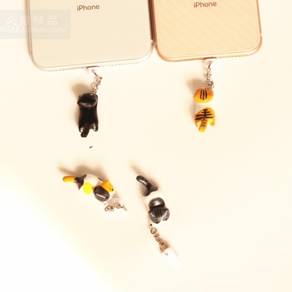 [해외]도매 20 개/몫 kpop kawaii 원래 품질 치의 고양이 충전 포트 안티 먼지 플러그 아이폰 x xs xr 8 8 s 7 7 s 6 6 s 5 5 s/도매 20 개/몫 kpop kawaii 원래 품질 치의 고양이 충전 포트 안티 먼지 플러