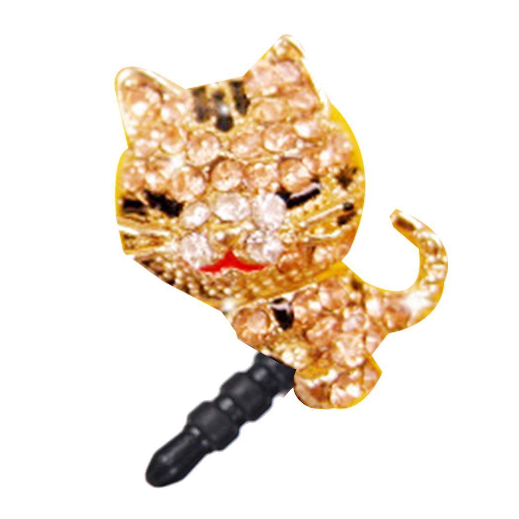 [해외]휴대 전화 이어폰 구멍 방진 플러그 만화 보호 및 장식 귀여운 캐주얼 고양이 합금 플러그/휴대 전화 이어폰 구멍 방진 플러그 만화 보호 및 장식 귀여운 캐주얼 고양이 합금 플러그