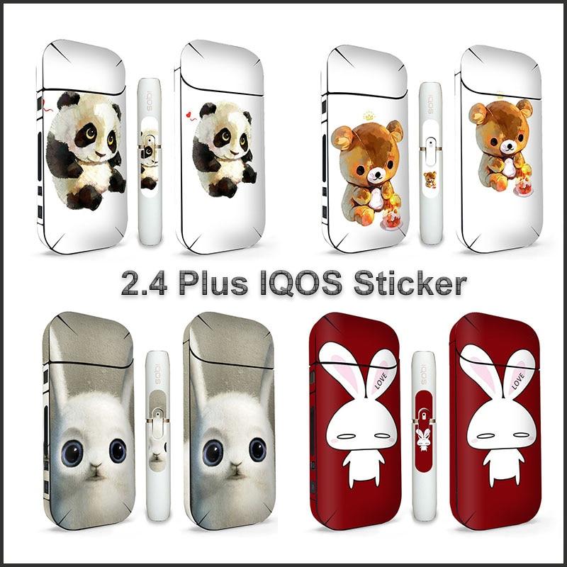 [해외]Newest 15 Pattern Sticker For IQOS 2.4 Plus 3M Printing Cover PVC IQOS Case Skin Protective Sticker/Newest 15 Pattern Sticker For IQOS 2.4 Plus 3M