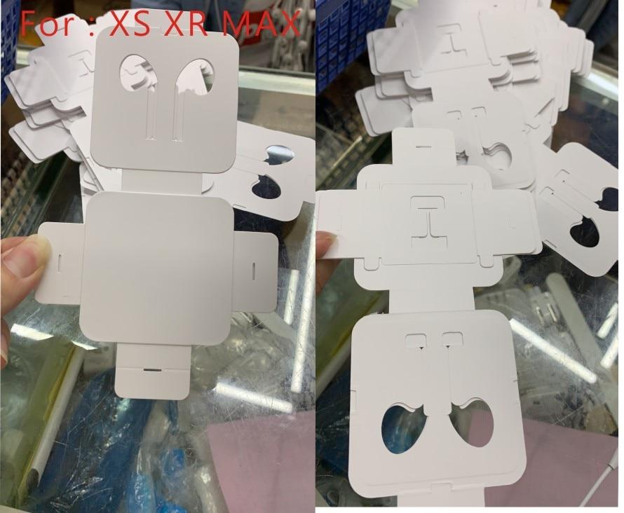 [해외]X xs xr 최대 헤드셋 스티커에 대 한 50 개/몫 헤드셋 판지 이어폰 헤드셋 스티커/X xs xr 최대 헤드셋 스티커에 대 한 50 개/몫 헤드셋 판지 이어폰 헤드셋 스티커