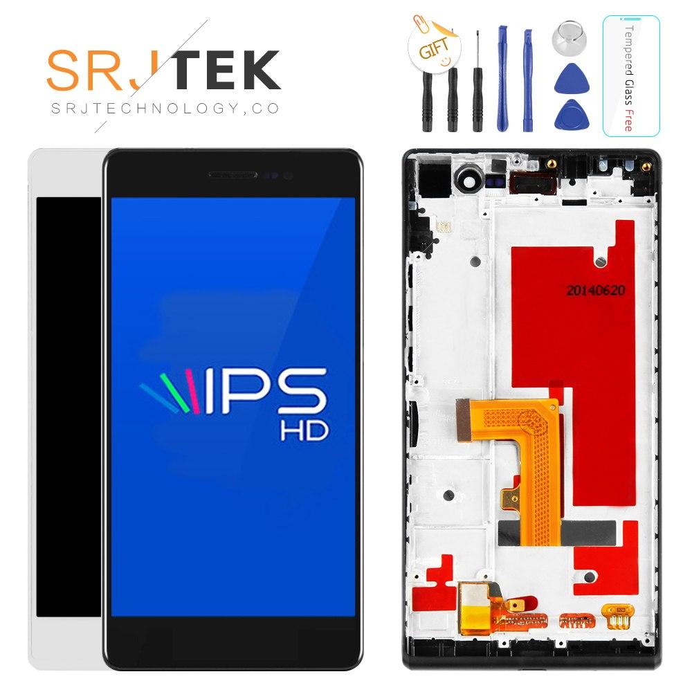 """[해외]SRJTEK 5 """"화웨이 승천 P7 소피아 P7 - L00 P7 - L05 P7 - L10 새로운 LCD 디스플레이 + 디지타이저 터치 스크린 유리 조립/SRJTEK 5\"""