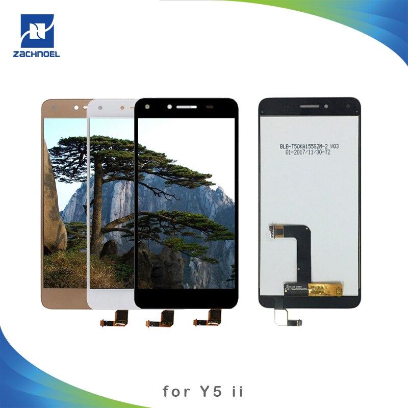 [해외]For Huawei Y5 II LCD Display Touch Screen Digitizer Assembly LCD for Huawei Y5 II Y5ii Y5 2 CUN-U29 CUN L23 L03 L33 L21 L01/For Huawei Y5 II LCD D