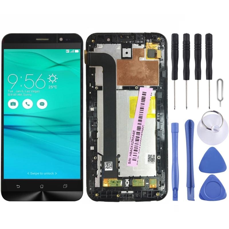 [해외] LCD Screen and Digitizer Full Assembly lcd Replacement GlassFrame for Asus Zenfone GO ZB552KL X007D/ LCD Screen and Digitizer Full Assembly lcd R