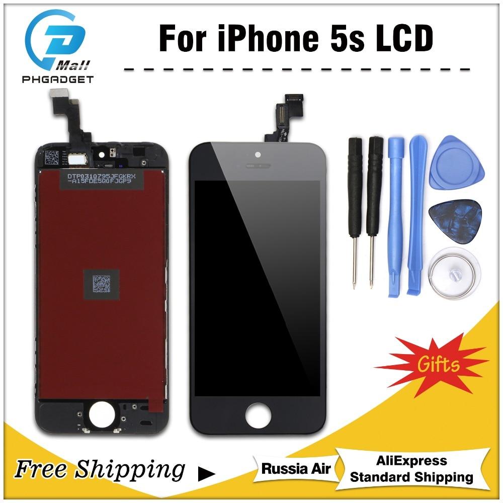 [해외]1PCS AAA Quality LCD Display for iPhone 5S Touch Screen Digitizer Assembly Replacement /1PCS AAA Quality LCD Display for iPhone 5S Touch Screen Di
