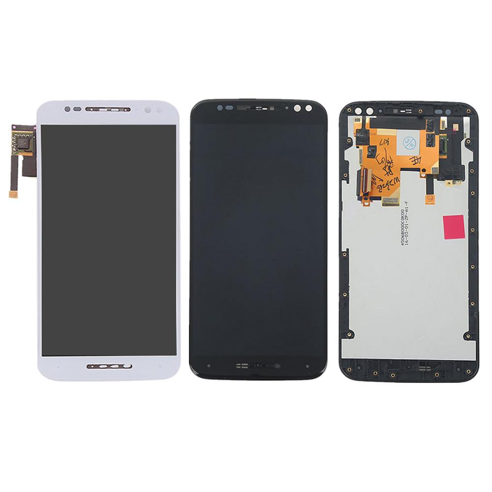 [해외]For Motorola Moto X Pure Edition / X Style XT1575 XT1572 XT1570 LCD Display Touch Screen Digitizer Frame Assembly Black White/For Motorola Moto X