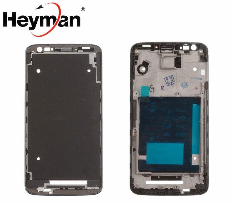 [해외]Heyman Middle Front Frame For LG G2 D802 Bezel Housing LCD Screen Holder Frame Repair Parts+Adhesive /Heyman Middle Front Frame For LG G2 D802 Bez