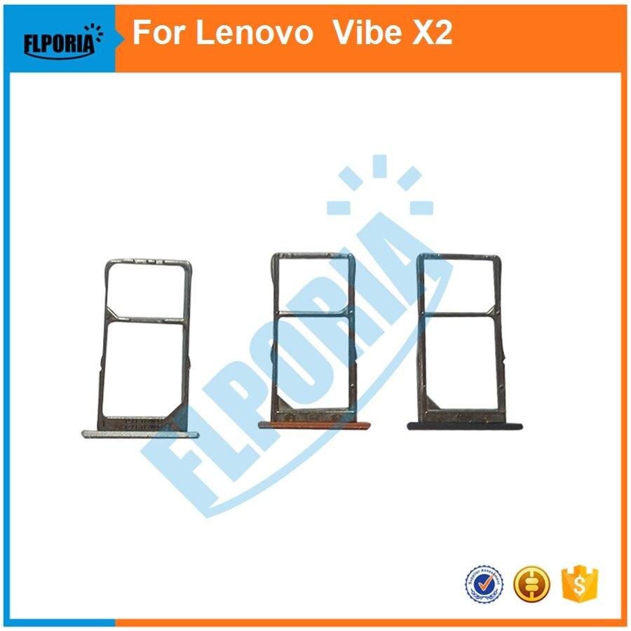 [해외]FLPORIA 10PCS  For Lenovo Vibe x2  Micro Sim Card Tray SIM Card Holder Tray Housing In Mobile Phone Parts/FLPORIA 10PCS  For Lenovo Vibe x2  Micro