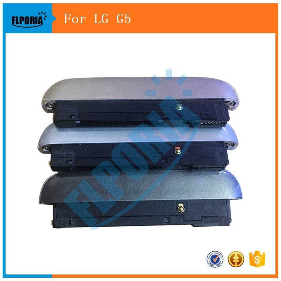 [해외]3PCS Original New For LG G5 H850 VS987 H820 H830 Bottom Cover Cap + Microphone Mic + Loudspeaker Ringer+ USB Charging Port /3PCS Original New For