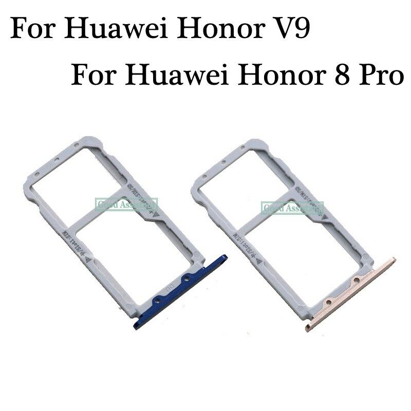 [해외]For Huawei Honor 8 Pro DUK-L09 / Honor V9 DUK-AL20 DUK-TL30 Sim Tray Micro SD Card Holder Slot Parts Sim Card Adapter/For Huawei Honor 8 Pro DUK-L