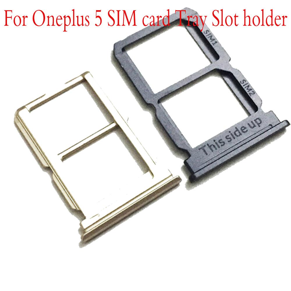 [해외]Original  For Oneplus 5 A5000 SIM Card Tray Holder Replacement Parts SIM Card Slot Holder Sim Cards Adapters/Original  For Oneplus 5 A5000 SIM Car