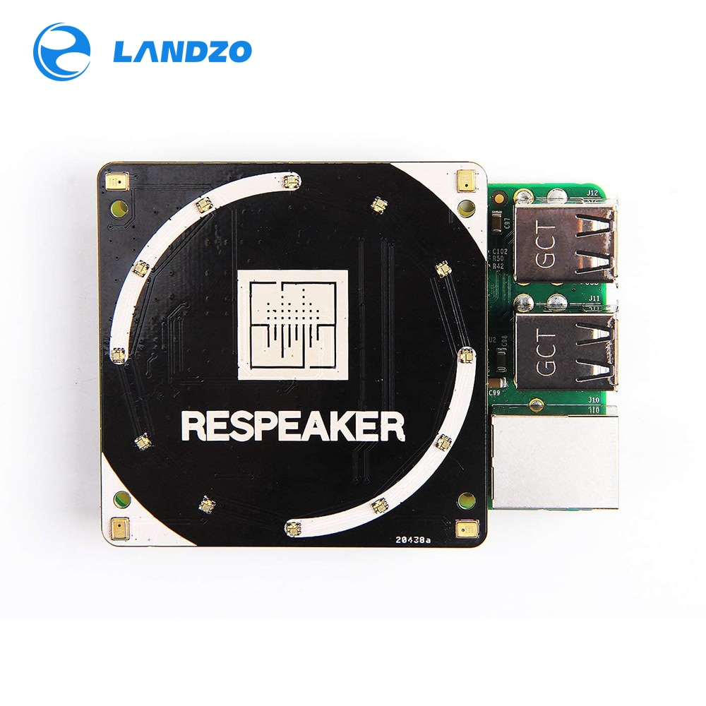 [해외]ReSpeaker 4-Mic Array for Raspberry Pi/ReSpeaker 4-Mic Array for Raspberry Pi