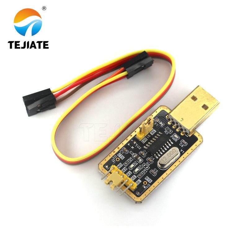 [해외]CH340 module instead of PL2303 , CH340G RS232 to TTL module upgrade USB to serial port in nine Brush small plates/CH340 module instead of PL2303 ,