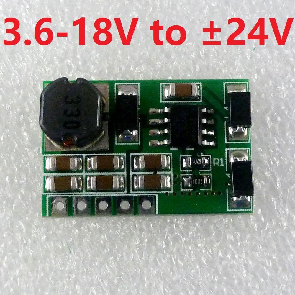 [해외]5V 6V 9V 12V 15V 18V to +24V/-24V DC DC Step up Boost Converter Positive negative Dual Voltage Power supply Module/5V 6V 9V 12V 15V 18V to +24V/-2