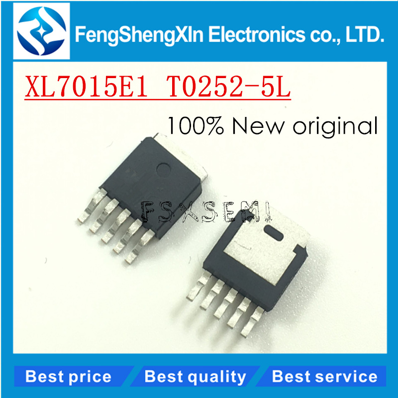 [해외]10pcs/lot New original  XL7015E1 XL7015 buck DC converter chip TO252-5/10pcs/lot New original  XL7015E1 XL7015 buck DC converter chip TO252-5