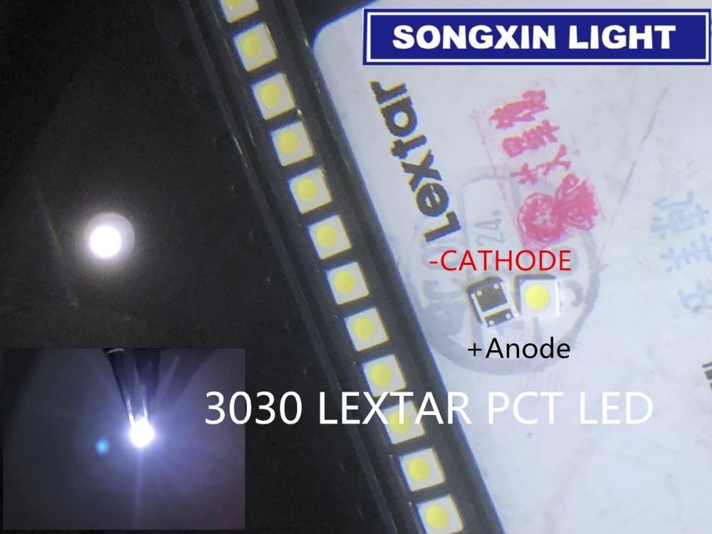 [해외]200pcs FOR LEXTAR LED Backlight High Power LED PCT 1.8W 3030 6V Cool white 150-187LM PT30W45 V1 TV Application /200pcs FOR LEXTAR LED Backlight Hi