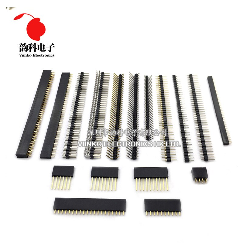 [해외]10pcs Female Pin Header Strip 40 Pin 2mm Single Row Female Pin Header/10pcs Female Pin Header Strip 40 Pin 2mm Single Row Female Pin Header