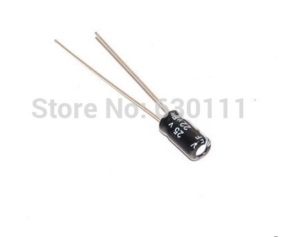 [해외]100pcs NEW 25V 22UF 4*7mm electrolytic capacitor 22UF 25V  4MM*7MM/100pcs NEW 25V 22UF 4*7mm electrolytic capacitor 22UF 25V  4MM*7MM