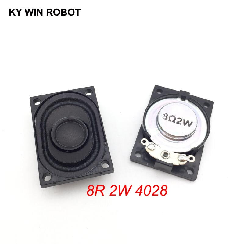 [해외]2PCS/Lot LCD Monitor/TV Speaker Horn 2W 8R 4028 2840 Loud speaker 8 ohms 2 Watt 8R 2W 40*28MM /2PCS/Lot LCD Monitor/TV Speaker Horn 2W 8R 4028 284