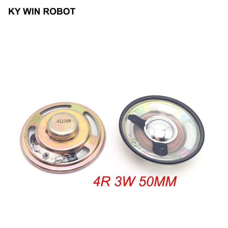 [해외]2pcs/lot New Ultra-thin speaker waterproof 4 ohms 3 watt 3W 4R speaker Diameter 50MM 5CM thickness 12.5MM/2pcs/lot New Ultra-thin speaker waterpro