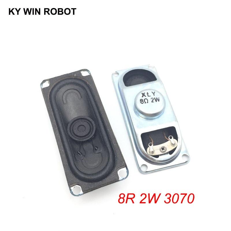 [해외]2PCS/Lot LCD Monitor/TV Speaker Horn 2W 8R 3070 Loud speaker 8 ohms 2 Watt 8R 2W 30*70MM thickness 17MM /2PCS/Lot LCD Monitor/TV Speaker Horn 2W 8