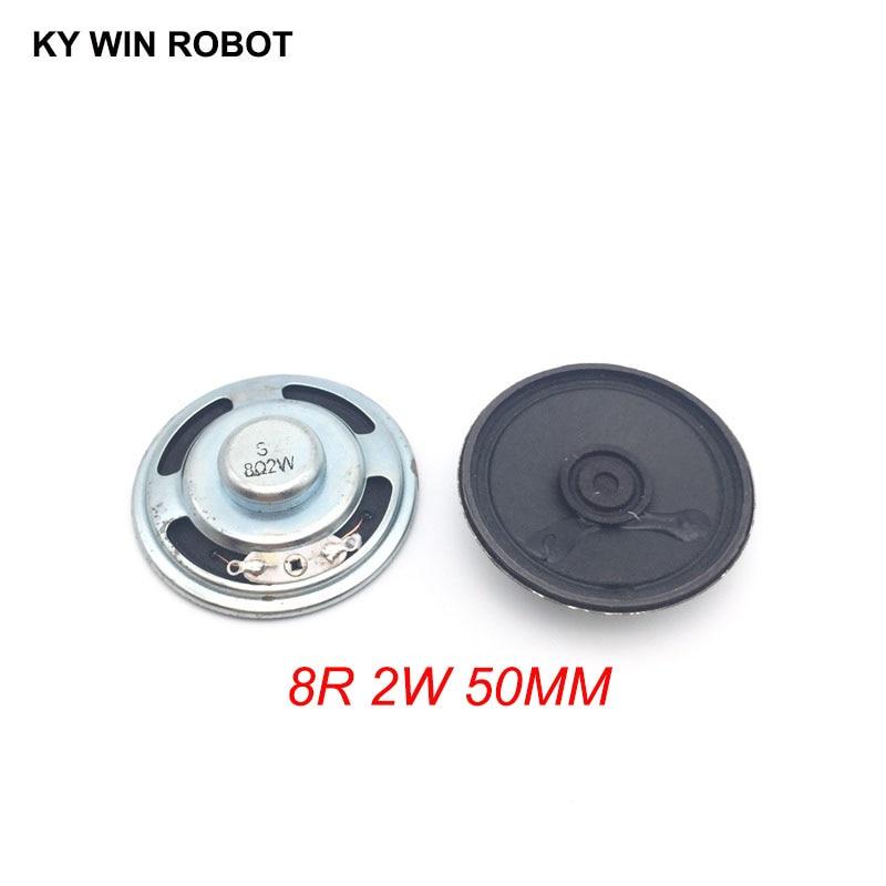 [해외]2pcs/lot New Ultra-thin speaker 8 ohms 2 watt 2W 8R speaker Diameter 50MM 5CM thickness 13MM/2pcs/lot New Ultra-thin speaker 8 ohms 2 watt 2W 8R s