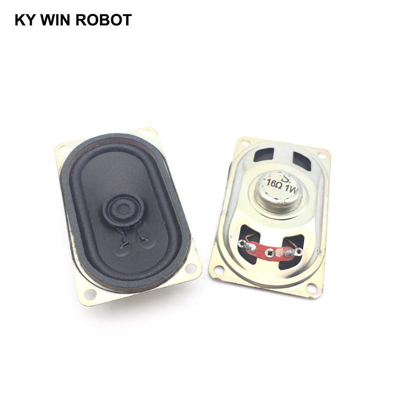 [해외]2PCS/Lot LCD Monitor/TV Speaker Horn 1W 16R 4070 Loud speaker 16 ohms 1 Watt 16R 1W 40*70MM thickness 20MM /2PCS/Lot LCD Monitor/TV Speaker Horn 1