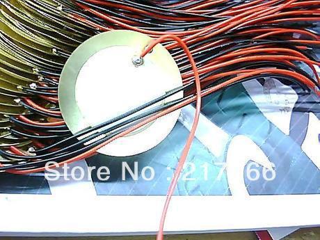 [해외]10PCS/LOT , 35mm Piezo Ceramic Elementcable length  SS-10/10PCS/LOT , 35mm Piezo Ceramic Elementcable length  SS-10