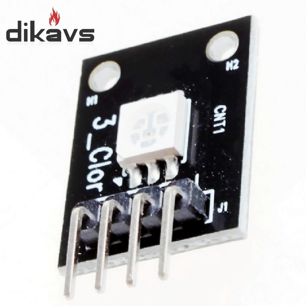 [해외]Arduino mcu 용 10 pcs rgb smd led 모듈 5050 풀 컬러 pwm/Arduino mcu 용 10 pcs rgb smd led 모듈 5050 풀 컬러 pwm