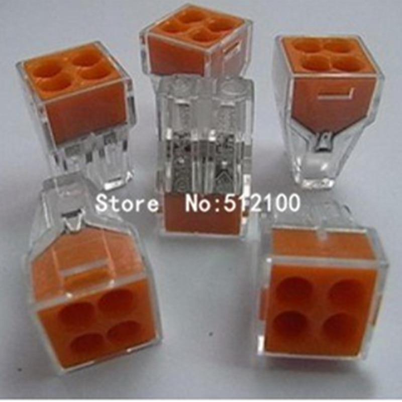 [해외] 30PCS Wire connector 773-104 2.5 square meters Hard line wire terminals Block 18-12/ 30PCS Wire connector 773-104 2.5 square meters Hard line wir