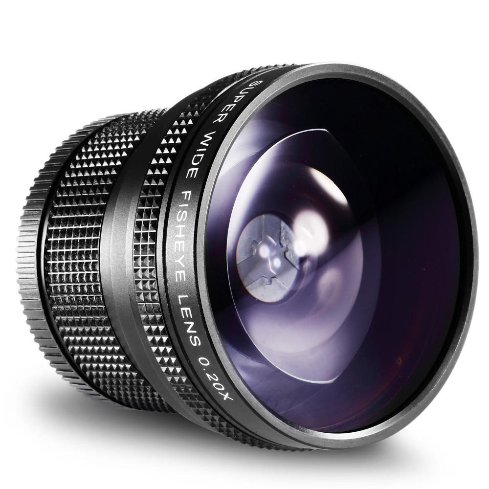 [해외]니콘 52MM 0.20X 고화질 슈퍼 와이드 AF 어안 렌즈 Nikon D5300 D5200 D5100 D5000 D3300 D3100 D3000 D7100 D7000 D90/Neewer 52MM 0.20X High Definition Super Wide AF