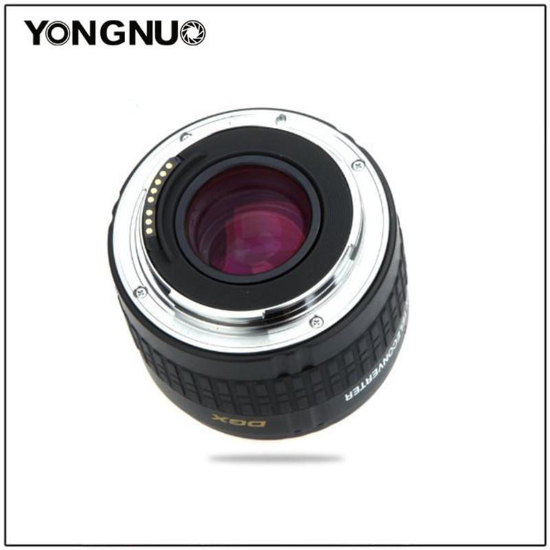 [해외]Yongnuo YN-2.0X II YN2.0X II Teleconverter Extender 캐논 EOS EF 렌즈 용 자동 초점 EF 변환 렌즈/YONGNUO YN-2.0X II YN2.0X II Teleconverter Extender Automatic fo