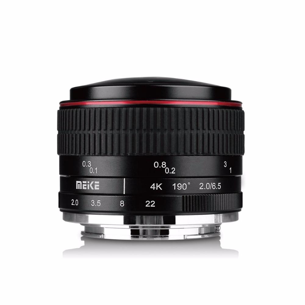 [해외]캐논 미러리스 카메라 용 6.5mm 울트라 와이드 f / 2.0 어안 렌즈/Meike 6.5mm Ultra Wide f/2.0 Fisheye Lens for Canon Mirorrless Camera