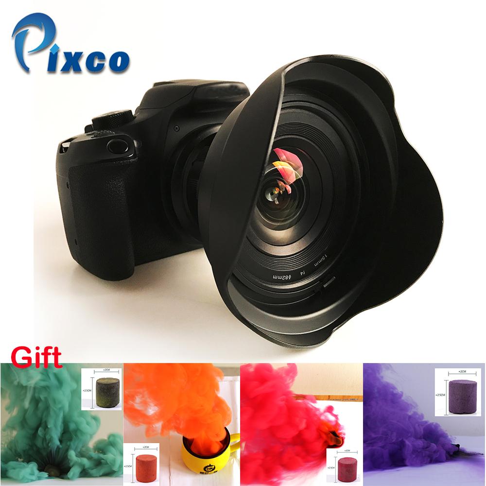 [해외]Nikon Canon 디지털 SLR 카메라 + 선물 -4 컬러 스튜디오 사진 소품 연기 카페에 15mm f / 4 f / 4.0 F4 초광각 렌즈 소송/15mm f/4 f/4.0 F4 Ultra Wide Angle Lens suit for Nikon Canon